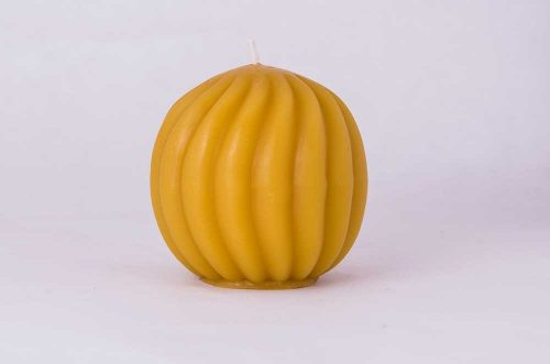 Beeswax Twisted Ball Beeswax Candle