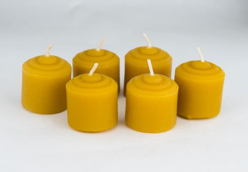 Beeswax Mini Votive Candles