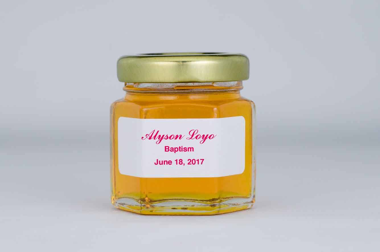 Honey Favors from E&M Gold Beekeepers