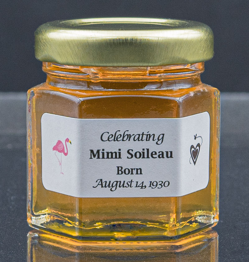 We are seeing an increase in inquiries for our NJ Local Honey favors