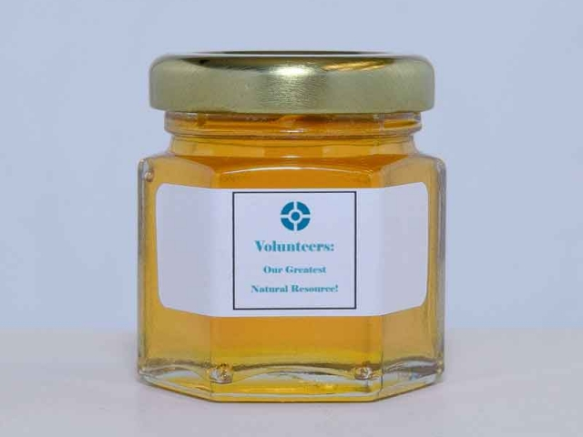 2oz. CentraState Corporate Honey Favor
