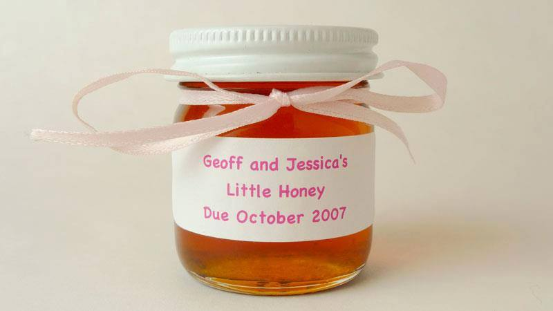 1.5oz. Baby Shower Honey Favor