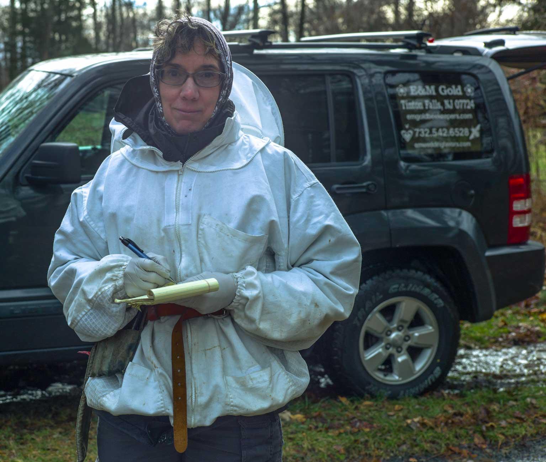 EM Gold Beekeepers Beekeeping updating winter yard notes Photo