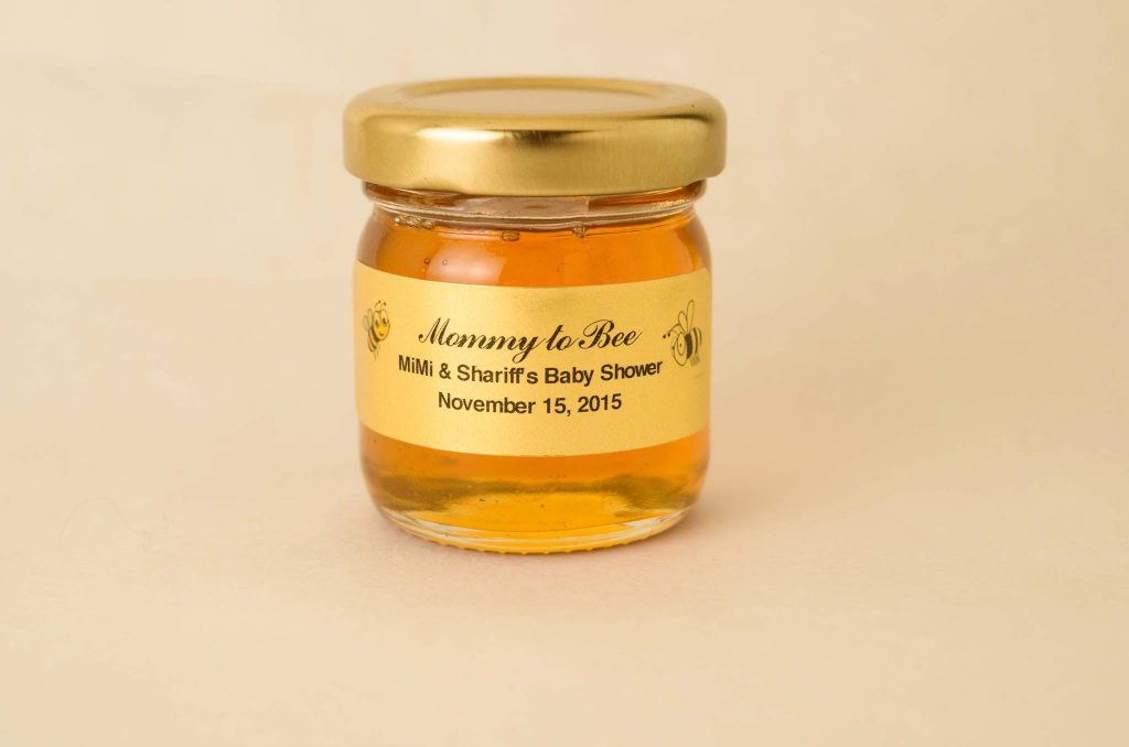 1.5oz Baby Shower Honey Favor