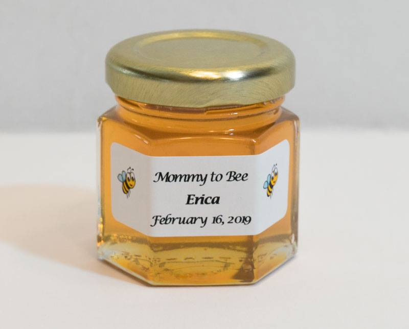 2oz. Honey Favor Mommy to Bee personalized label
