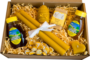 NJ Raw Honey Large Gift Box