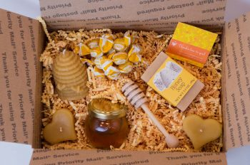 NJ Raw Honey Small Gift Box
