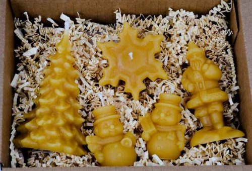 Beeswax Candle Collection Small Gift Box