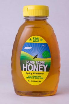 NJ Spring Wildflower Honey - 16oz